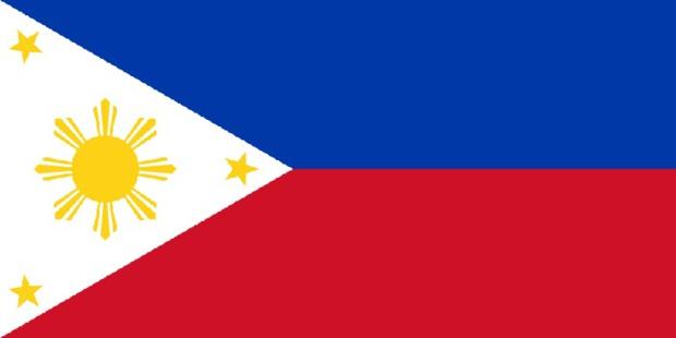 Le drapeau des Philippines - DR