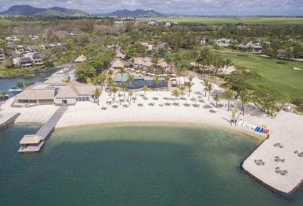 Le Resort appartenant au groupe Mauricien Ciel Altéo est doté de grande suite (200 m2 en moyenne) ainsi que de villas (200 à 550 m2) accompagnées d'un service hôtelier haut de gamme - DR Anahita Golf & Spa