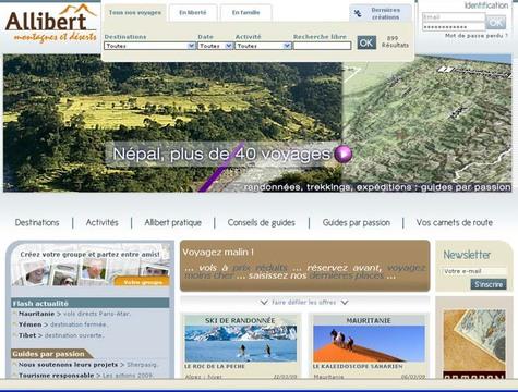 Allibert : refonte du site web et cap sur les derniers espaces sauvages