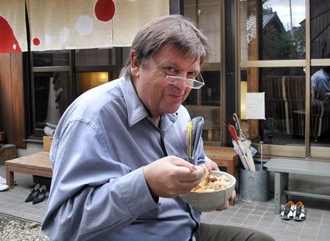 Qui a dit que Michel-Yves Labbé se contentait d'un bol de riz ?