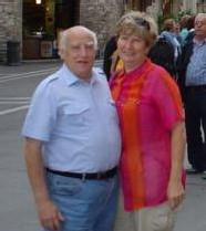 Christian MARION et son épouse (Centre Azur Voyages à Cusset)