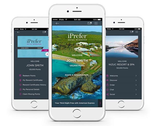 Preferred Hotels & Resorts propose une nouvelle application mobile pour les membres de son programme de fidélité - DR : Preferred Hotels & Resorts