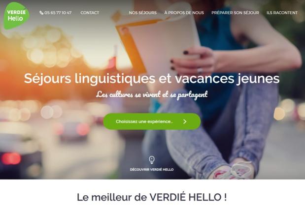 Verdié Hello est l'une des nouvelles marques lancées par Verdié Voyages et dédiée aux voyages linguistiques et jeunes - DR