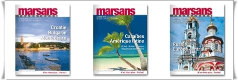 Brochuresenligne.com : édition des 3 brochures estivales de Marsans