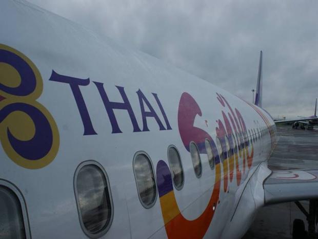 Thai Smile, filiale à 100% de Thai Airways, propose des dizaines de vols intérieurs depuis Bangkok. © DR FB Thai