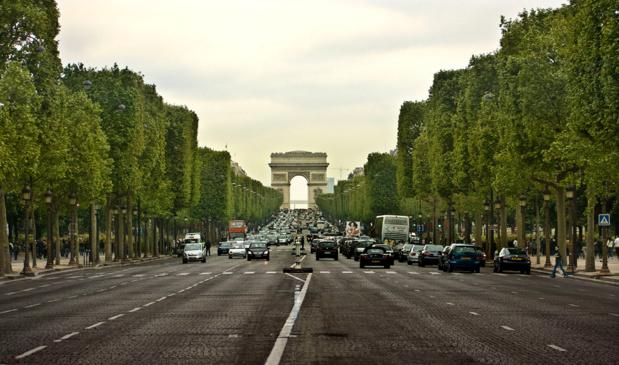 L'attaque a eu lieu sur les Champs-Elysées aux alentours de 21 heures - Photo : Wikipedia
