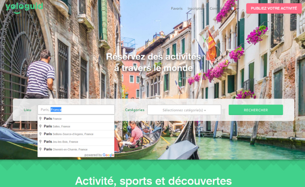 Capture d'écran de Yologuid.com