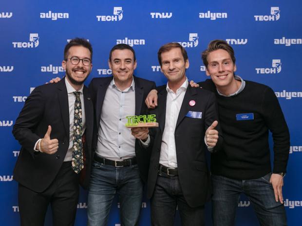 Misterfly remporte la finale France de Tech5 (c) Adyen