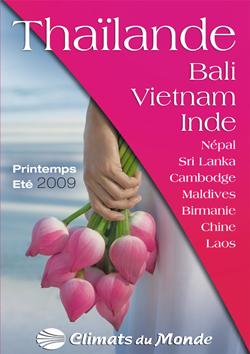 Climats du Monde : nouvelle brochure Asie printemps-été 2009