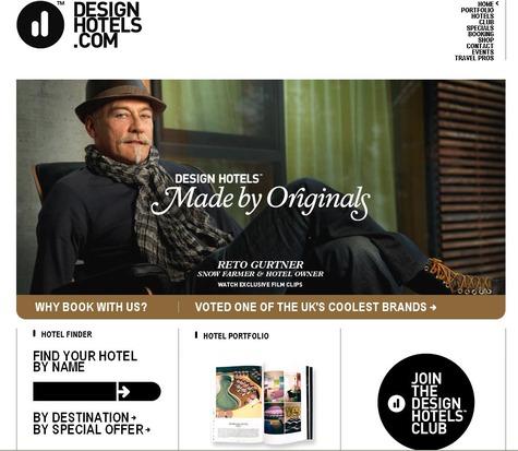 Page d'accueil de la nouvelle version de son site web lancé le 10 mars