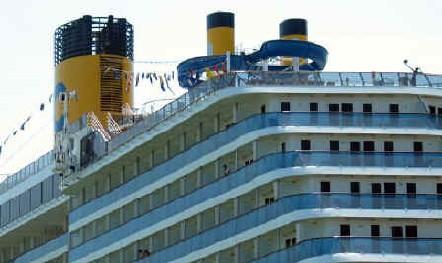 Contrôle sanitaire : le ''Costa Atlantica'' se porte bien
