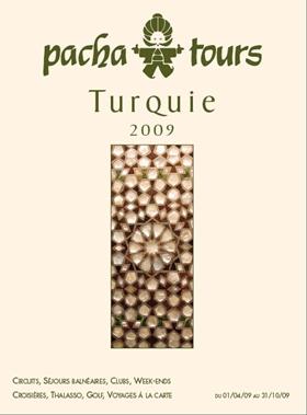 Pacha Tours : sortie de la nouvelle brochure  Printemps-été 2009