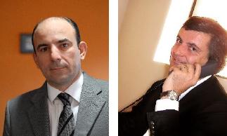 Michel Rigaud DG - Cristophe Perrot PDG