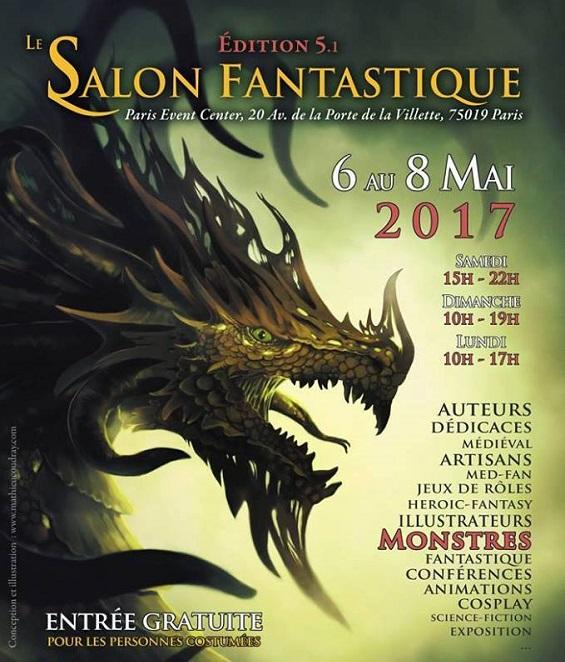 Une immersion dans l'univers du fantastique à Paris du 6 au 8 mai 2017