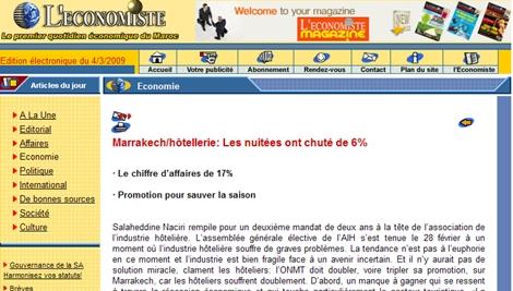 Maroc : les hôteliers souffrent et accusent le coup