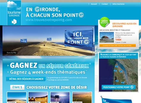 Le site Trouvezvotrepointg.com
