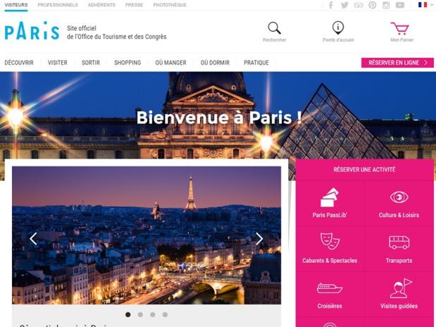 La Mairie de Paris a décidé de la fermeture définitive de 3 des 5 points d'accueil touristique ainsi que la suppression de 9 postes d'agents d'accueil sur 21 - DR : Capture d'écran OT Paris