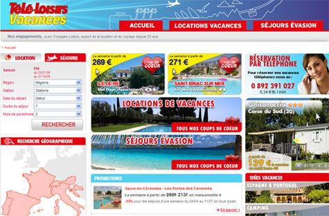 Voyages Loisirs et Télé-Loisirs lancent un site de voyages en marque blanche