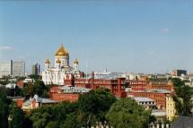 Moscou : 5 millions de touristes étrangers en 2007