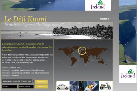 Kuoni lance son « Défi » pour les agents de voyages