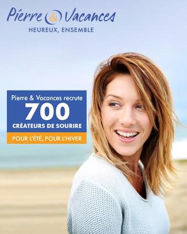 La campagne de recrutement de Pierre et Vacances se déroule jusqu'à fin mai 2017 - DR : Pierre et Vacances