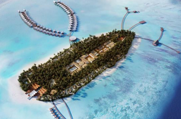 Le Mövenpick Resort & Spa Kuredhivaru Maldives proposera des villas sur la mer et d'autres dans l'eau - Photo : Mövenpick Hotels & Resorts
