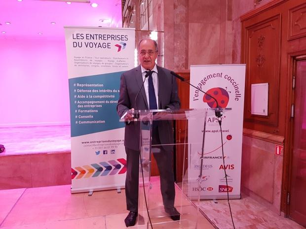 Jean-Pierre Mas reste président des Entreprises du Voyage - Photo : C.E.