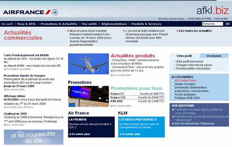 Air France et KLM lancent afkl.biz
