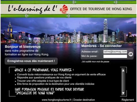 L'OT de Hong Kong lance un e-learning pour les agents de voyages
