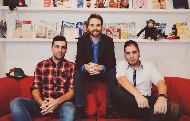 Ferran, Pau et Dani (c) Waynabox