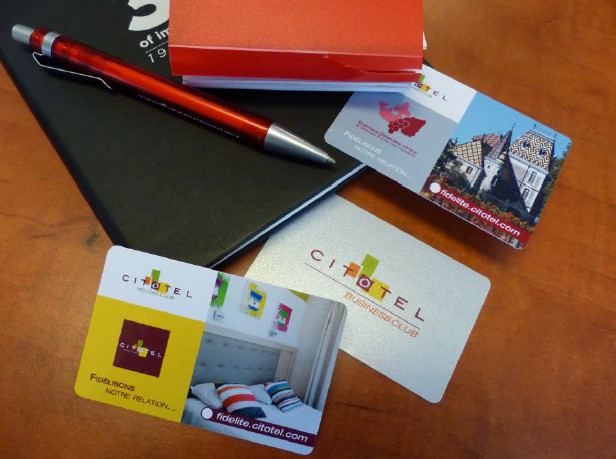 La carte Business Club de CITOTEL permet de bénéficier de réductions et de cumuler des points pour obtenir des avantages - Photo : CITOTEL