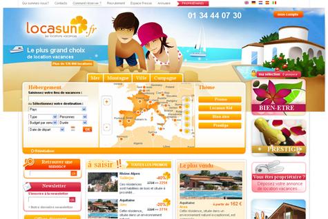 Locasun : le site web fait peau neuve