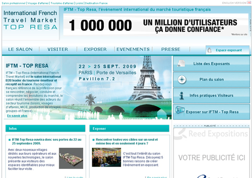 IFTM Top Resa : nouvelle couleur et nouveau site web