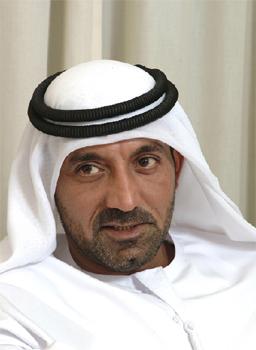 Son Altesse Sheikh Ahmed bin Saeed Al-Maktoum, PDG de la compagnie aérienne et du Groupe Emirates.
