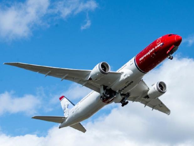 Norwegian propose des vols long-courrier en low-cost - Photo : Norwegian