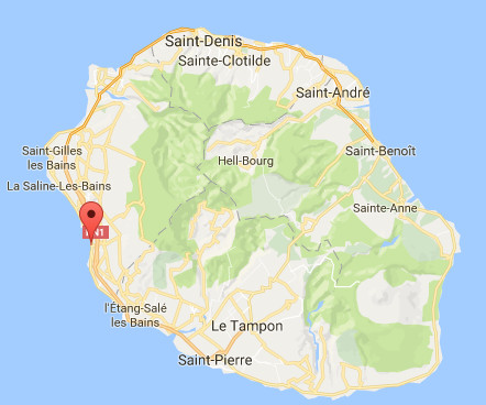 L'attaque mortelle s'est produite à Saint-Leu samedi 29 avril 2017 - DR : Google Maps