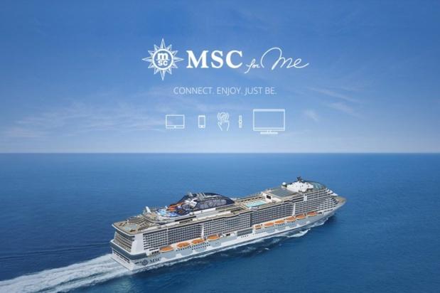 Le programme MSC For Me sera d'abord déployé sur le MSC Meraviglia, premier navire nouvelle génération de la flotte qui sera mis en service le 3 juin 2017 (c) MSC Croisières