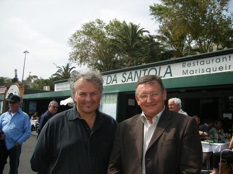 Thierry Schidler et Michel Seyt co-présidents du SNET - Commission Tourisme de la FNTV