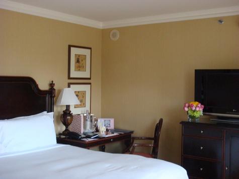 Les chambres ont été redécorées en 2006