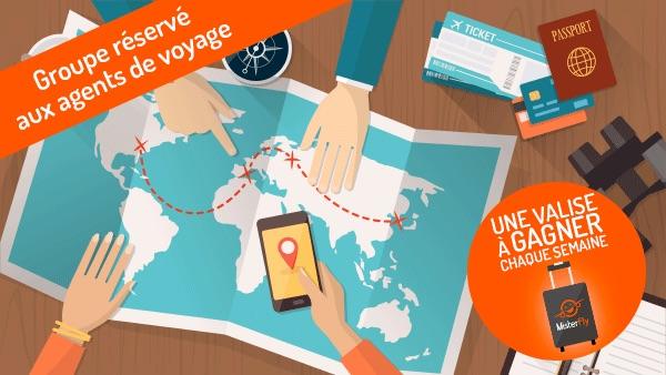 Misterfly a lancé un groupe dédié aux agents de voyages sur Facebook - DR