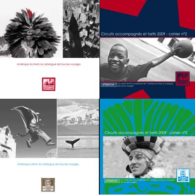 Maison des Etats-Unis/ des Amériques Latines : nouveaux catalogues 2009/2010