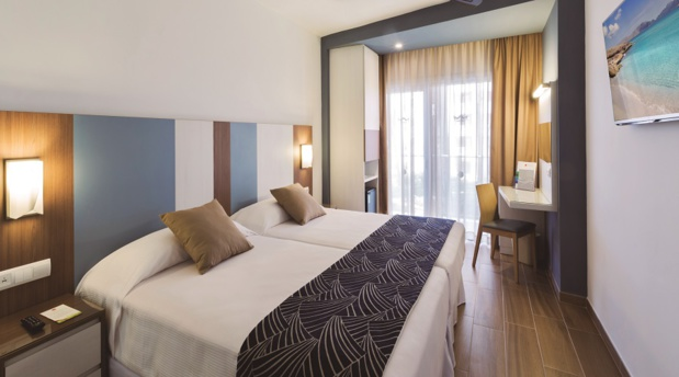 Les nouvelles chambres du RIU Festival de Playa de Palma à Palma de Majorque - DR