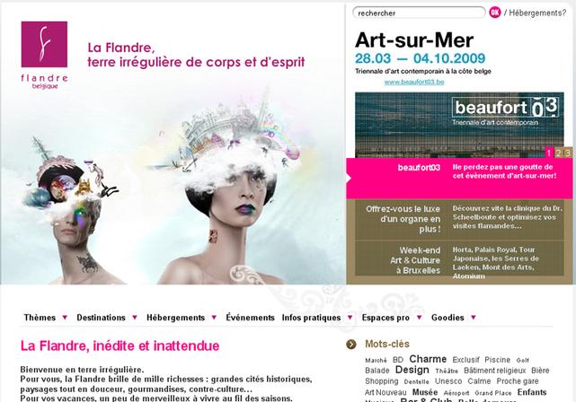 L'OT de Belgique Flandre Bruxelles lance une campagne en France