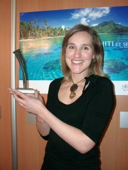 Sandrine Reynier-Rolland, attachée commerciale Air Tahiti Nui