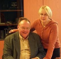 René Léonard et sa fille Véronique