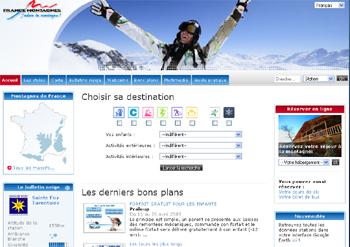 Le site de SkiFrance
