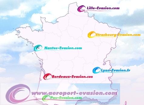 Aerolines multiplie les sites marchands des aéroports régionaux