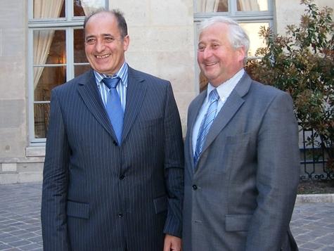 Jean-Pierre Mas et François-Xavier de Boüard, co-présideront le plus grand réseau de distribution français