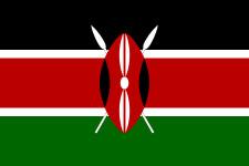Le drapeau du Kenya - DR