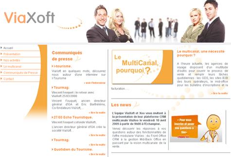 ViaXoft présente sa plate-forme multicanal, ViaXeo